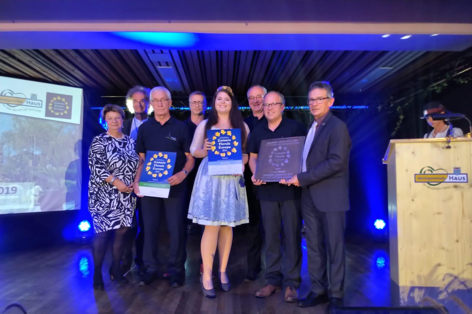 Weyher erhält Silbermedaille beim Europäischen Dorfwettbewerb