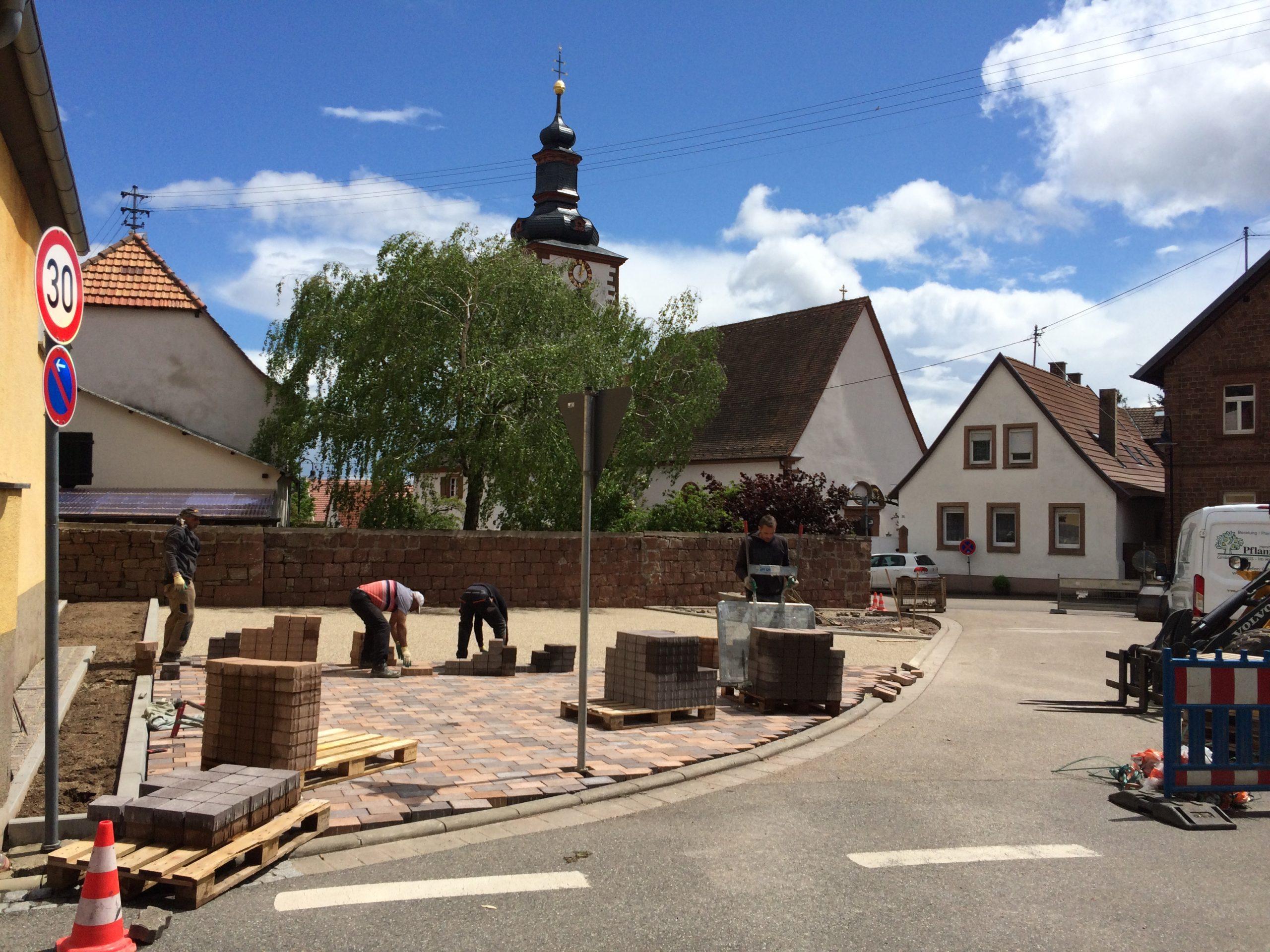 An Pfingsten kann der Platz wieder uneingeschränkt genutzt werden