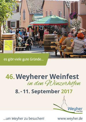 46. Weyherer Weinfest