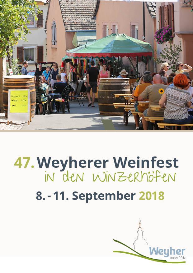 Vorbereitung Weinfest 2018